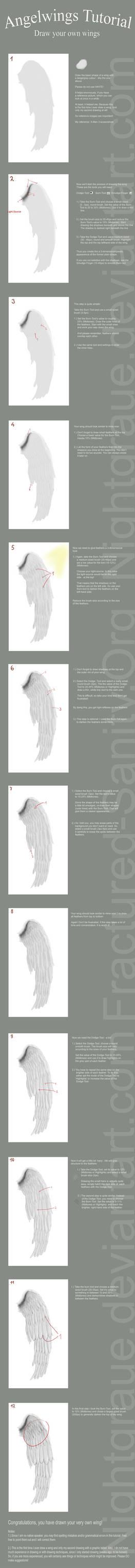 Drawing Wings Tutorial Vers. 2