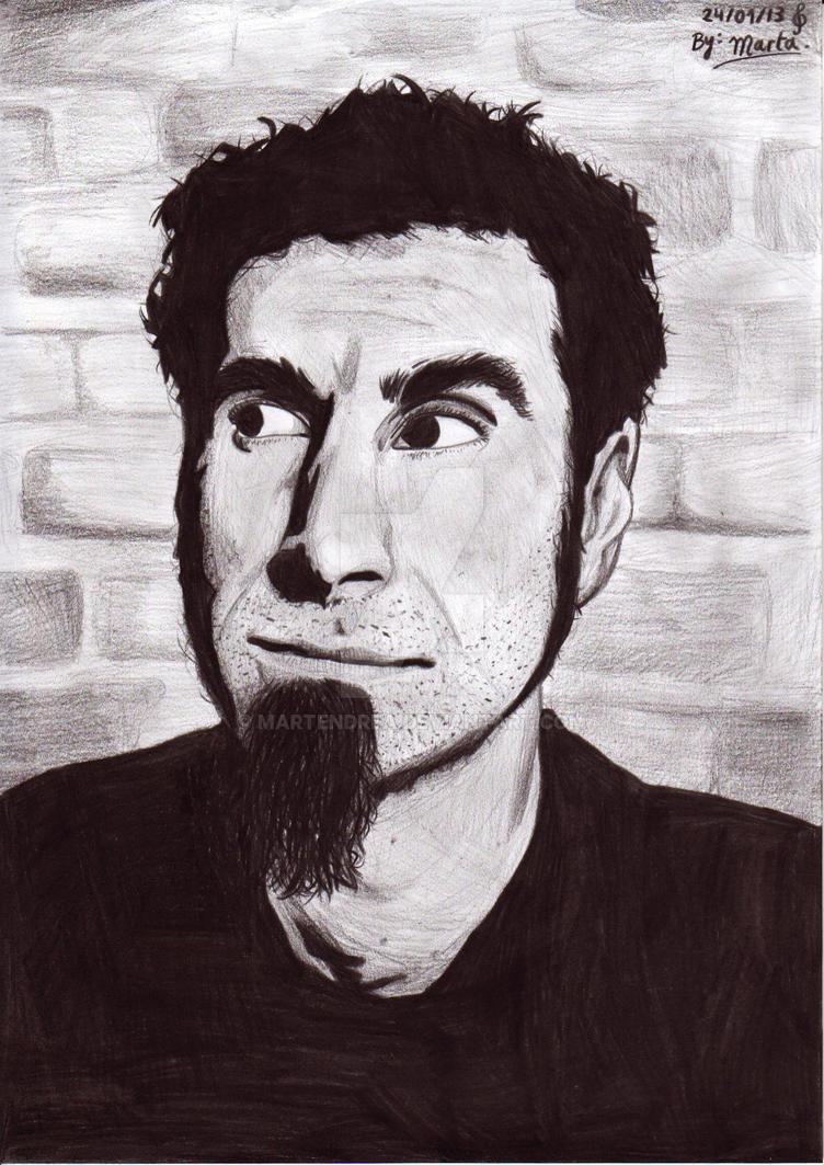Serj Tankian by martendrea
