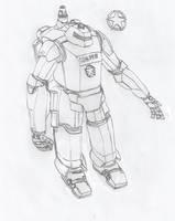 Wolverine Power Armor by Imperator-Zor