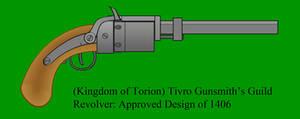Tivro Gunsmith's Guild Revolver by Imperator-Zor
