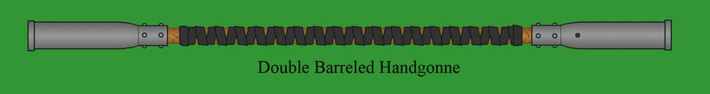 Double Barreled Handgonne by Imperator-Zor