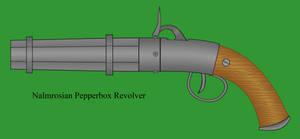 Nalmrosian Pepperbox Revolver by Imperator-Zor