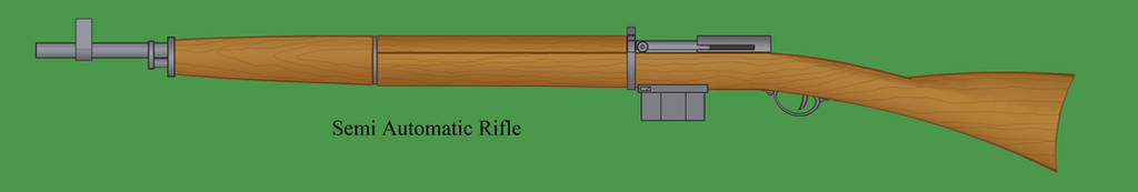 Semi Automatic Rifle by Imperator-Zor