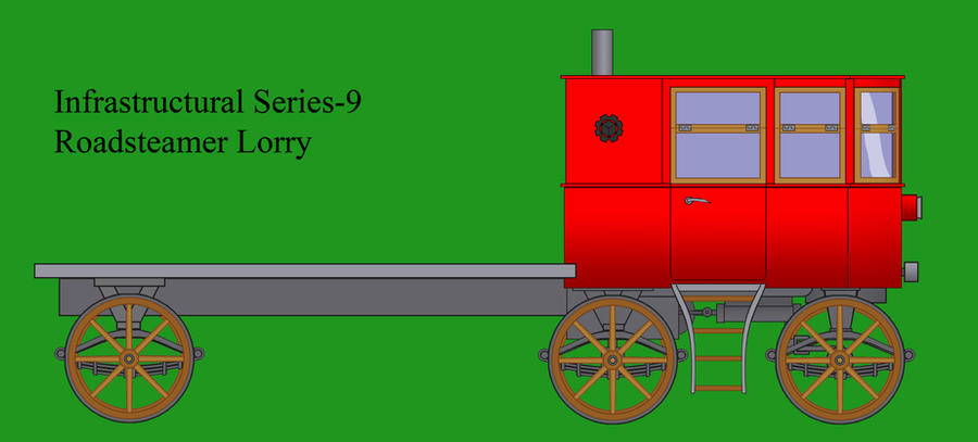 Series-9 Roadsteamer Lorry by Imperator-Zor
