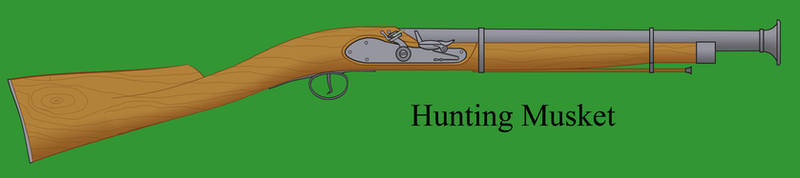 Hunting musket by Imperator-Zor