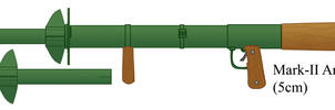 Mark-II Anti Tank Rocket Launcher
