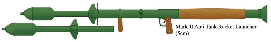 Mark-II Anti Tank Rocket Launcher by Imperator-Zor