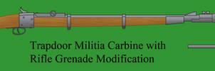 Trapdoor Militia Carbine: Grenade Modificaiton by Imperator-Zor