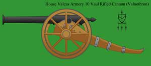 Valcas Ten Vaul Rifled Cannon