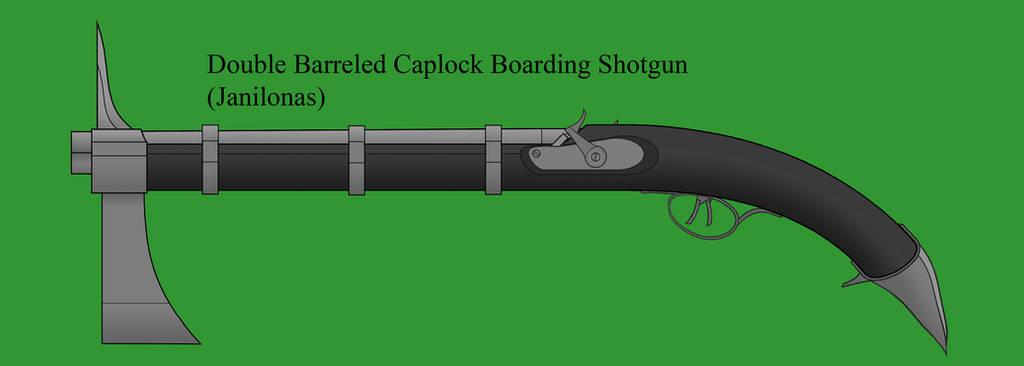 Drow Double Barreled Boarding Shotgun by Imperator-Zor