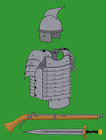 Matchlock Musketeer Gear by Imperator-Zor