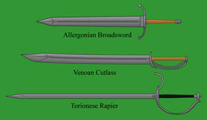 Human Infantry Swords by Imperator-Zor