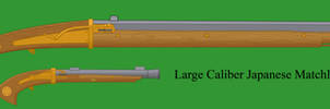 Large Caliber Japanese Matchlock by Imperator-Zor