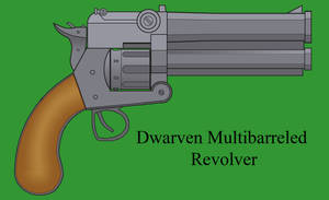 Dwarven Multibarreled Revolver by Imperator-Zor