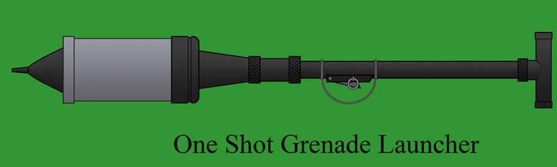 One Shot Grenade Launcher by Imperator-Zor