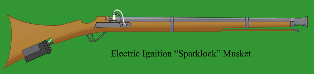 Sparklock Electric Musket by Imperator-Zor