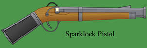 Sparklock Pistol by Imperator-Zor