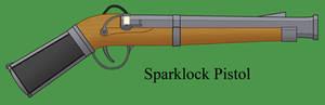 Sparklock Pistol
