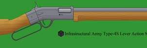 Type-4S Lever Action Shotgun