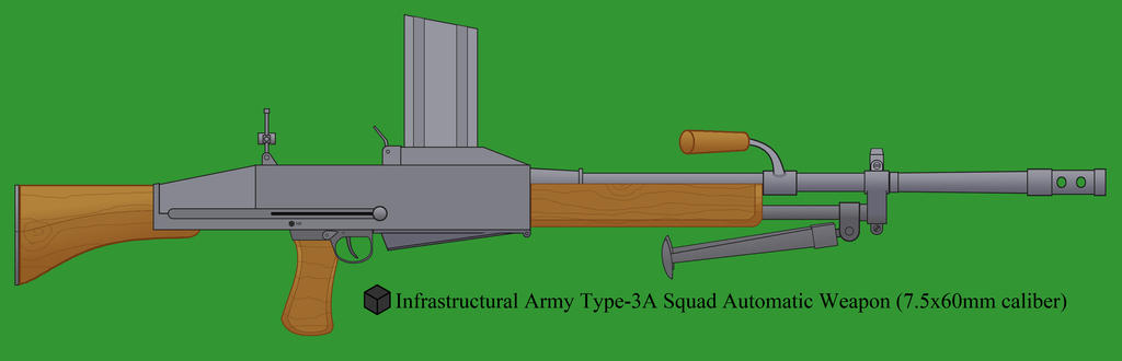 Type-3A Squad Automatic Weapon by Imperator-Zor