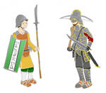 Provincial Conscript and Imperial soldier