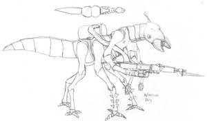 Warrior Bug by Imperator-Zor