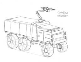 Combat Wombat by Imperator-Zor