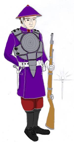 Army of God rifleman (896)