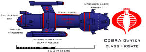 COBRA Garter class Frigate