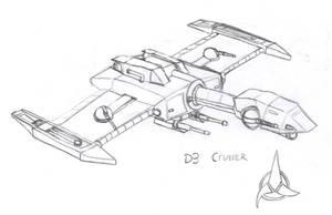 Klingon D3 Cruiser by Imperator-Zor