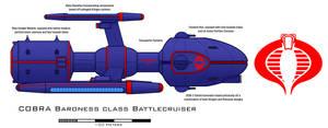 COBRA Baroness class Battlecruiser by Imperator-Zor