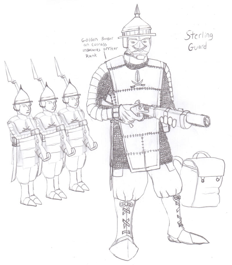 The Halrizuudian Sterling Guard by Imperator-Zor