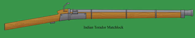 Indian matchlock by Imperator-Zor