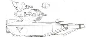 Ratling Tank by Imperator-Zor