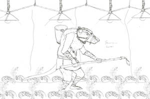 Skavenslave Farmer by Imperator-Zor