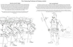Two annoying extremes in Fantasy Armies by Imperator-Zor
