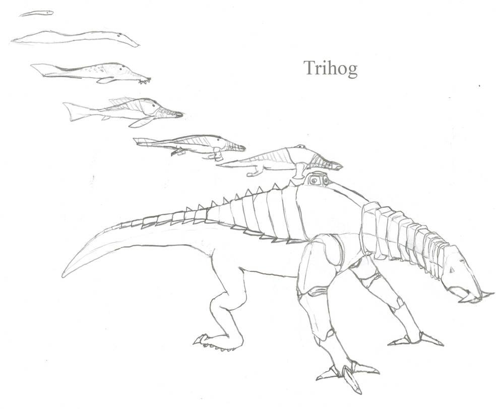Trihog by Imperator-Zor