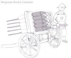 Shogunate Rocket Launcher of the Second Invasion by Imperator-Zor