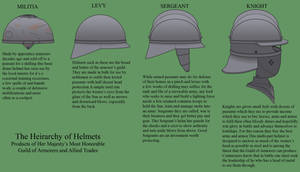 A Heirarchy of Helmets by Imperator-Zor
