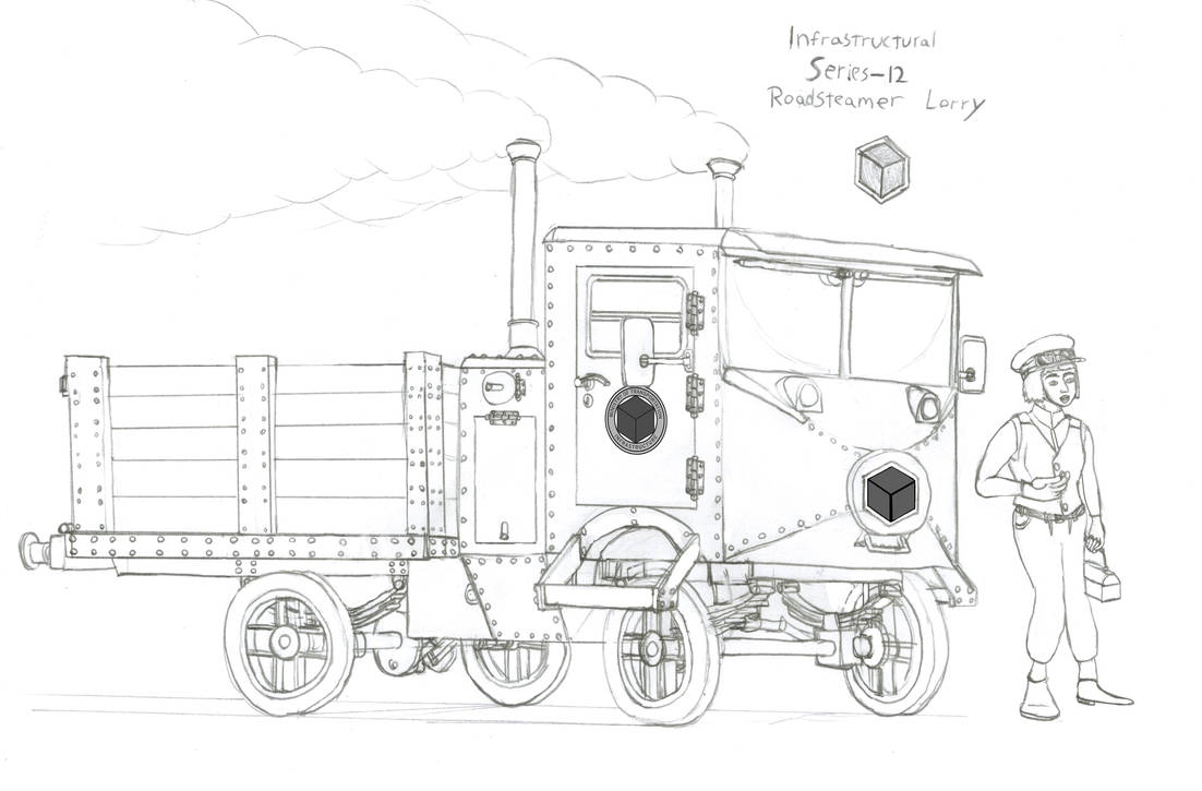 Series 12 Roadsteam Lorry by Imperator-Zor