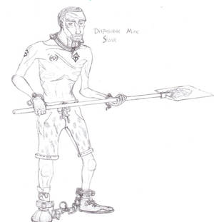 (Chattel of the Drow) Disposable Mine Slave