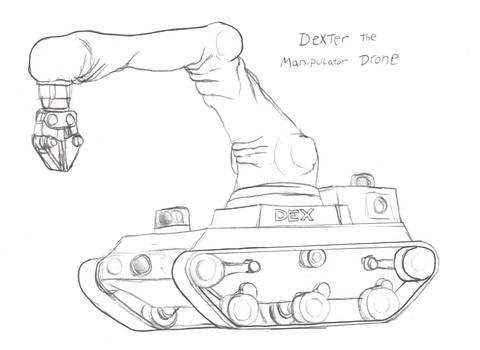 Dexter the Manipulator Drone