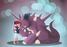 Nidoking by Katie-Grace