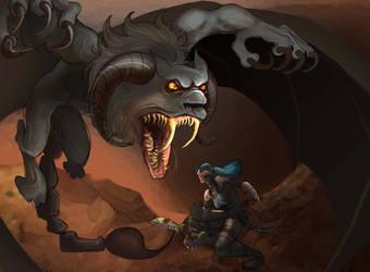 Monster Hunter by Katie-Grace