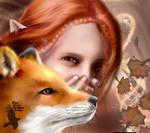 Elf of Autumn Change by Katie-Grace
