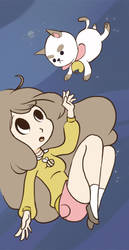 Bee and Puppycat by Katie-Grace