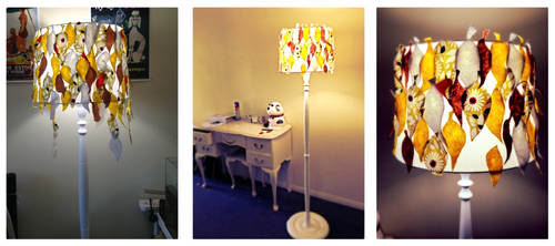 Revamped Lampshade by Katie-Grace