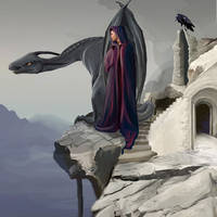 Pestilence Dragon - Smaller by Katie-Grace