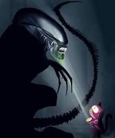 Alien VS Predator by Katie-Grace