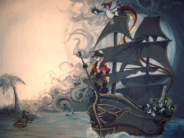 Animal Pirate Ship by Katie-Grace